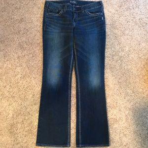 Silver Jeans, Suki mid slim boot, W32/L33